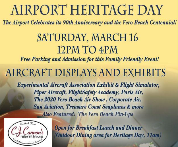 Airport Heritage Day poster preview