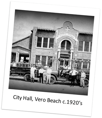 City Hall of Vero Beach in the 1920s