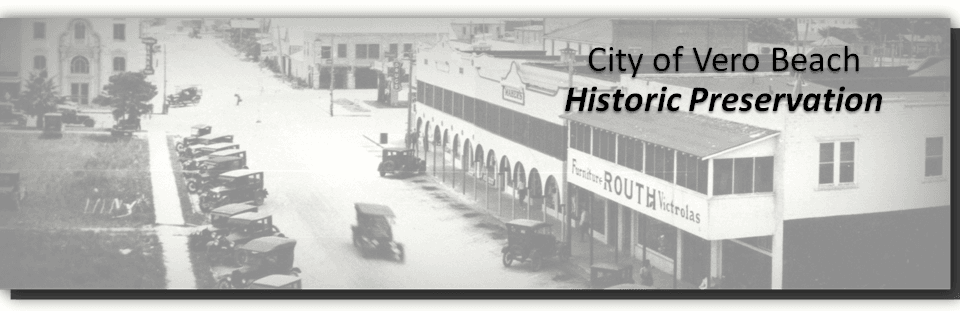 Historic Preservation - Local Register Banner